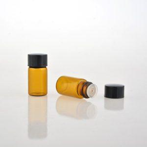 3ml glazen druppelflesje druppeldop monsterflesje essentiële olie