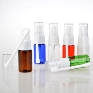 Lege neusverstuiver pomp draaibare neusspray vernevelaar 10ml
