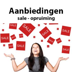 aanbiedingen - sale- opruiming