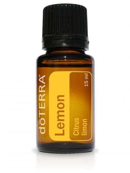 Citroen essentiële olie dōTERRA Lemon Citrus limon 15ml.