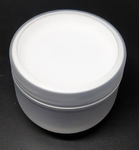 Cosmetica potjes 30ml - mat transparant