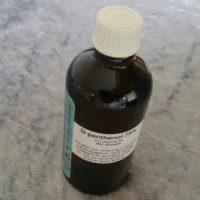 D-panthenol 75%, provitamine B5 – Pantenol grondstof cosmetica