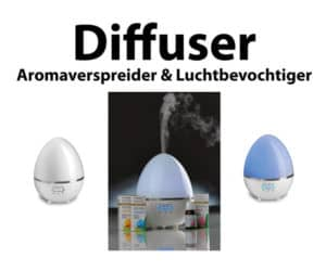 Diffuser Aromaverspreider Luchtbevochtiger