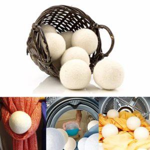 Droogballen wasdrogerballen, wasverzachter bal, dry balls 100% wol