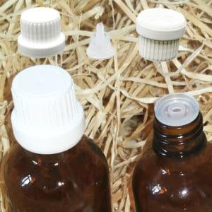 Druppeldoppen druppelaars garantiesluiting din18 - druppel dosering