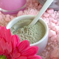 Groene klei – leem poeder extra fijn 100 gram.