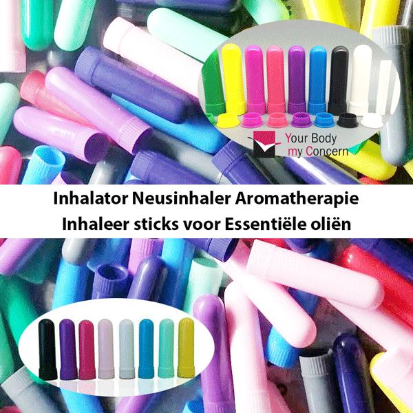 Inhalator Neusinhaler aromatische inhaleer stick Essentiële Olie aromatherapie