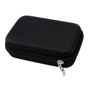 luxe reisetui parfumrollers 10ml zwart essentiële olie tas, houder 10 flesjes