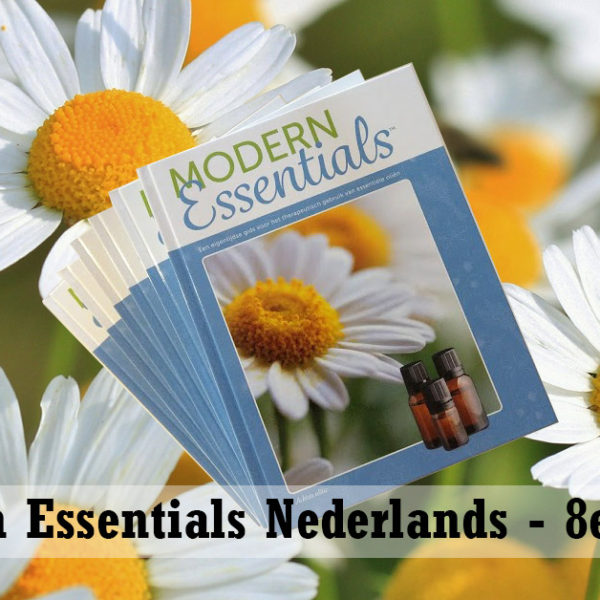 Modern Essentials Boek, essentiële oliën Nederlands 8e Editie