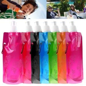 Vapur opvouwbare waterfles - herbruikbare flexibele fles navulbaar