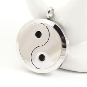 Parfum Medaillon ying yang - Diffuser Hanger + pad