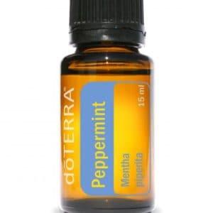 Pepermunt essentiële olie dōTERRA Peppermint Mentha piperita 15ml.