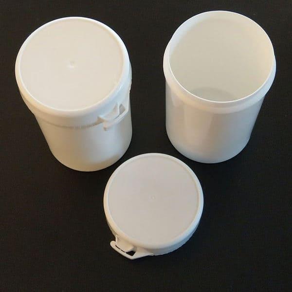 Snap secure pot 130ml + deksel verzegelbaar