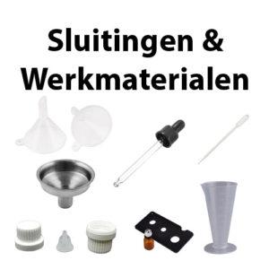 Sluitingen & Werkmaterialen